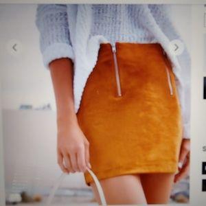 Forever 21 Ultrasuede Skirt